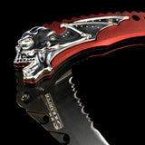 Skull Bat Knife
