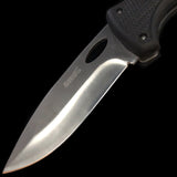 Black Ridged Knife