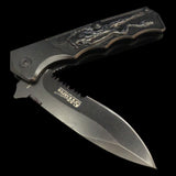 Black Mythical Creature Knife