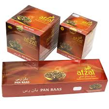 Afzal Flavored Molasses -  Pan Raas 10/50 Gram