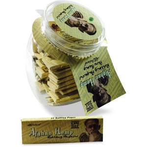 Afghan Hemp Rolling Papers King Size Jar (50ct)