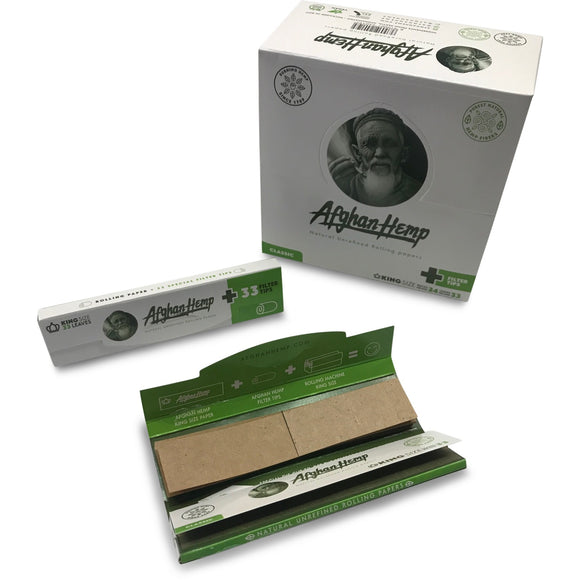 Afghan Hemp Rolling Papers Plus Tips