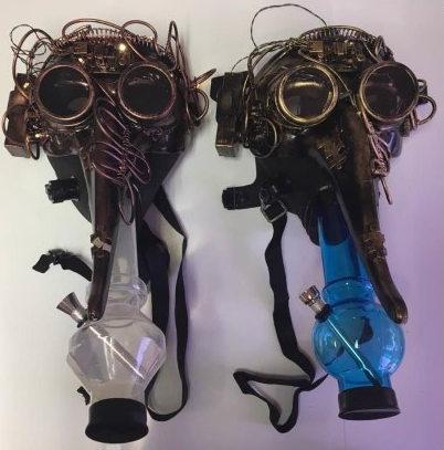 Underground Smoker's Gas Mask