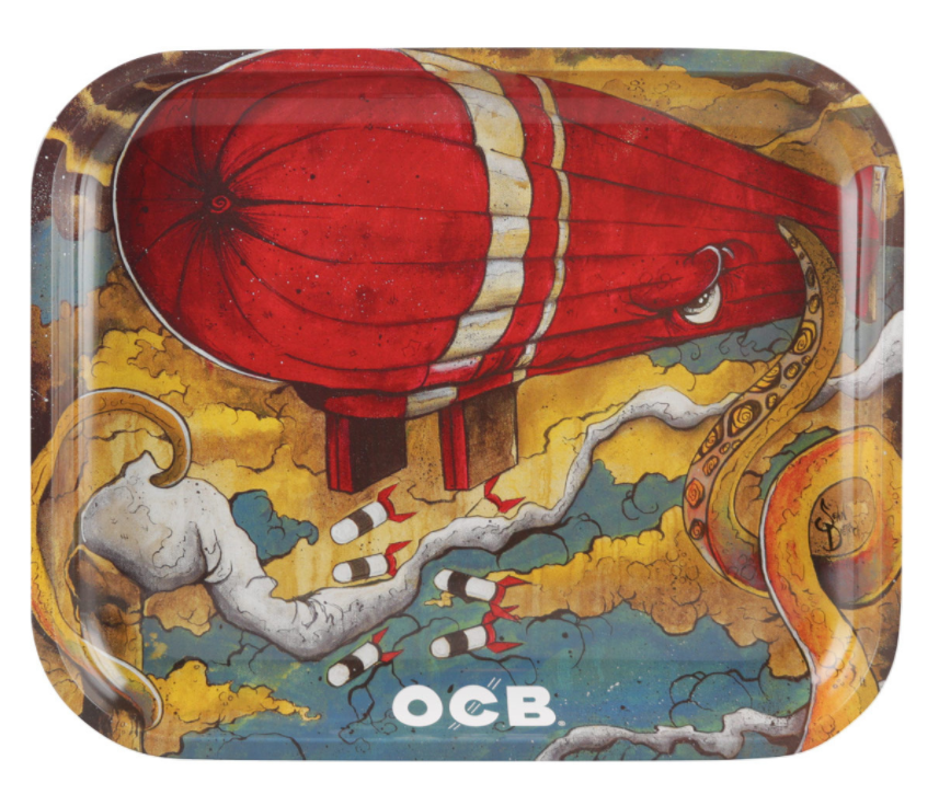 OCB Metal Rolling Tray - Max vs. Octopus (Large)