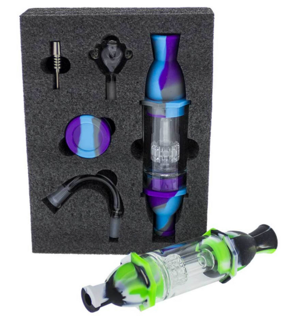 Ultimate Silicone Glass Nectar Collector Kit