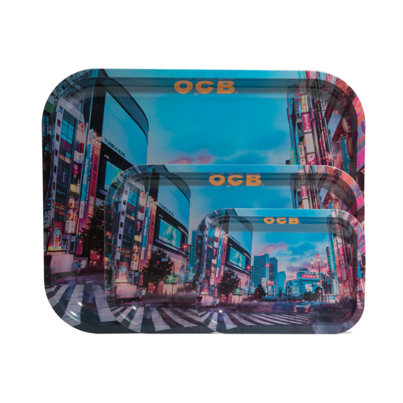 OCB Rolling Tray - Tokyo (Large) ~Buy 1 Get 1 Free, Can Mix & Match~