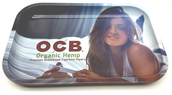 OCB Organic Lady Rolling Tray (Medium) ~Buy 1 Get 1 Free, Can Mix & Match~