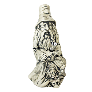 Ceramic Wizard Dragon Water Pipe