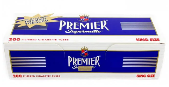 Premier Tubes Navy King (200ct)