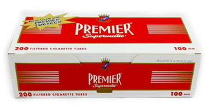 Premier Tubes Red 100 mm (200ct)