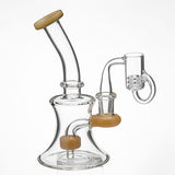 18mm Female Quartz Banger w/ Removable Diamond Knot + Free Carb Cap