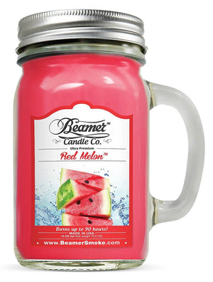 Beamer Candle Co. Red Melon Scented Jar candle