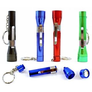 Flashlight Pipe Keychain