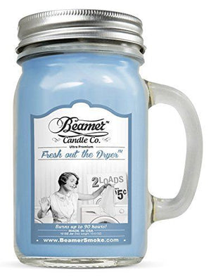 Beamer Candle Co. Fresh out the Dryer Scented Jar candle