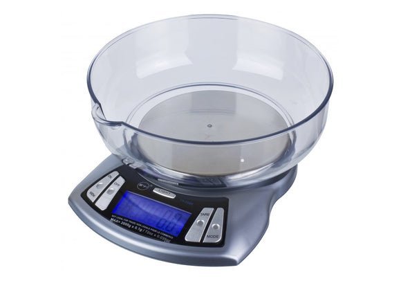 TX-2000 Fuzion 2000 Gram Kitchen Scale w/ Bowl