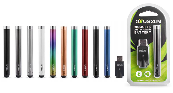 Exxus Slim Auto Draw Cartridge Vaporizer