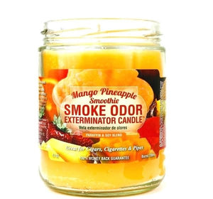 Smoke Odor Exterminator Candle 13oz Mango Pineapple Smoothie