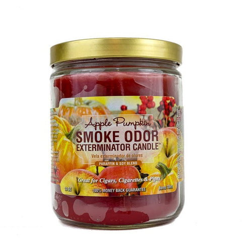 Smoke Odor Exterminator Candle 13oz Apple Pumpkin