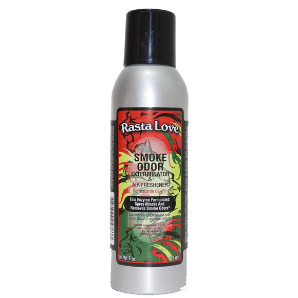 Smoke Odor Exterminator & Air Freshener Spray Rasta Love