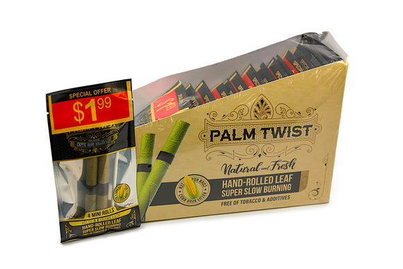 Palm Twist Mini 2PK - Pre-Priced @ $1.99 - 20ct