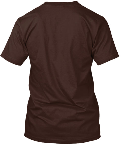 Brown Round Neck Tee Shirt