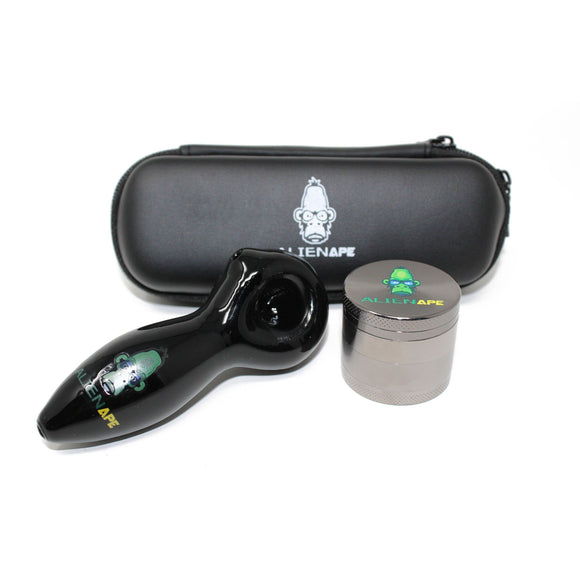 Alien Ape Pipe & Grinder Kit
