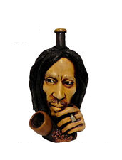 Rasta Bob Resin Pipe