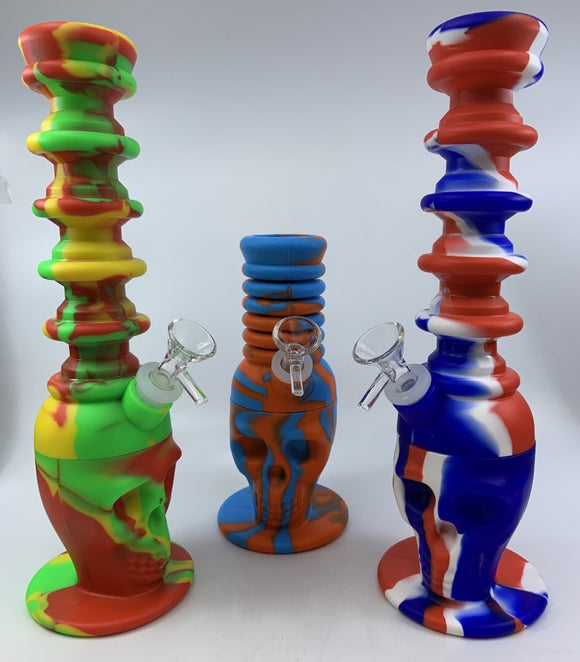 SILICONE EXPANDABLE WATERPIPE