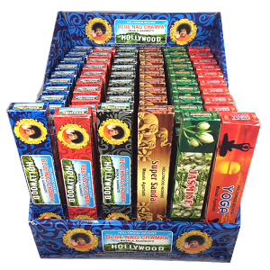 Hollywood Incense Variety Box (72ct)