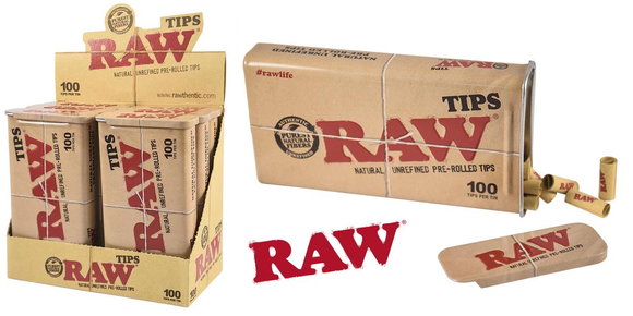 Raw Tips in a Tin