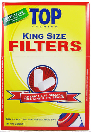 Top Filter Tips King Size