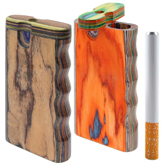 Large Wooden Dugout w/ Grip w/ One Hitter (Assorted)