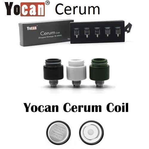 Cerum Replacement Coils (5 pack)