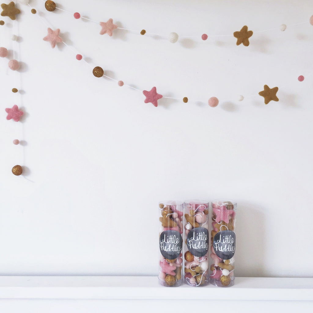 Star Garland - Blush Copper