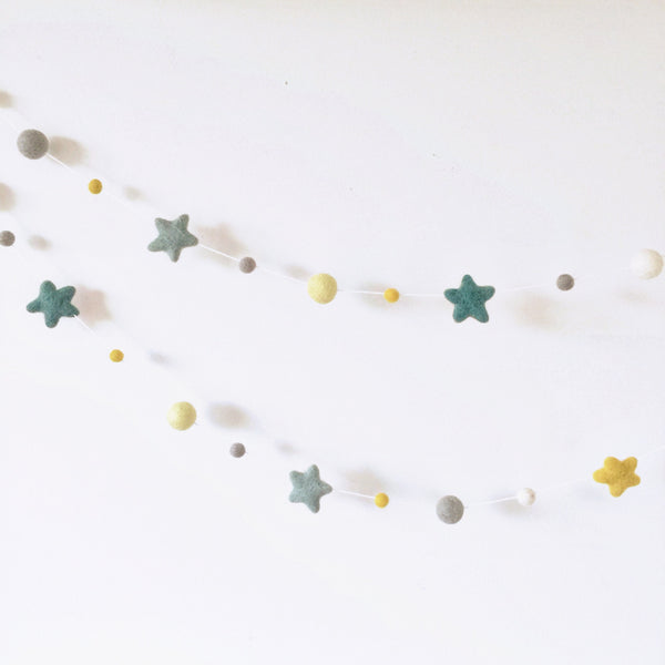 Star Garland - Wattle