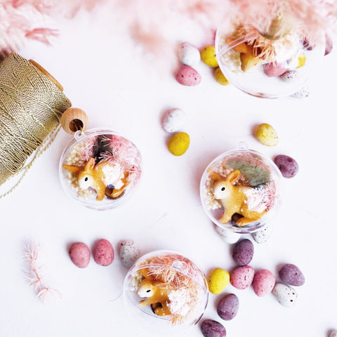 Baubles - Mini Easter Bunny Botanicals