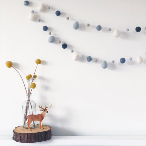 Raindrop Garlands - Scandi