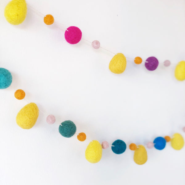 Raindrop Garlands - Rainbow
