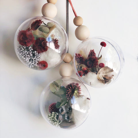 Baubles - mini botanicals triple packs