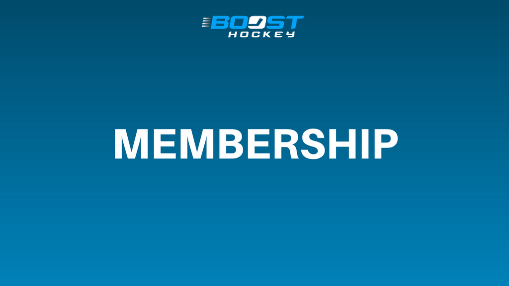 The Boost Hockey Membership Is Live!