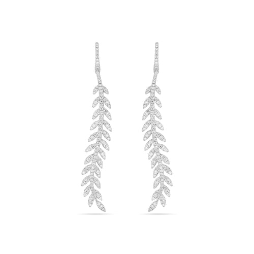 CURVA Feather Earrings