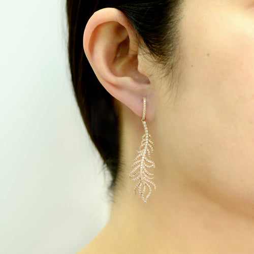 ORDONNÉ Feather Earrings