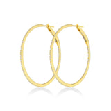 1.5 Inch/38 MM Hoop Earrings