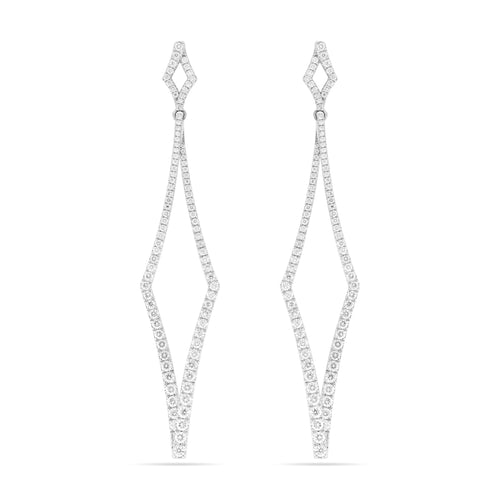 DIAMANT Earrings , Earrings - Fine Jewelry, RoCHIC, RoCHIC Designer Fine Jewelry