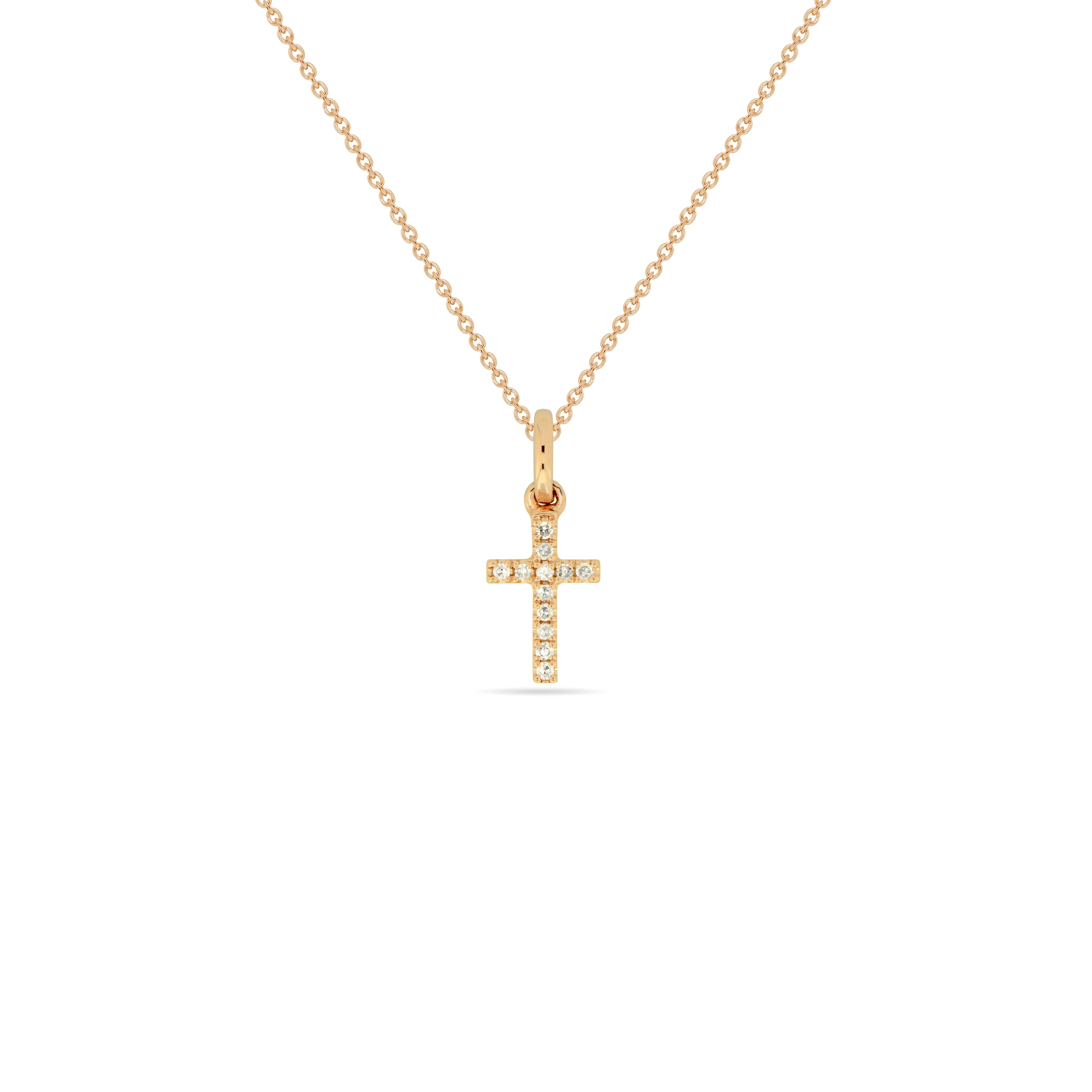 SMALL Cross Necklace , Necklaces - Fine Jewelry, RoCHIC, RoCHIC Fine Jewelry