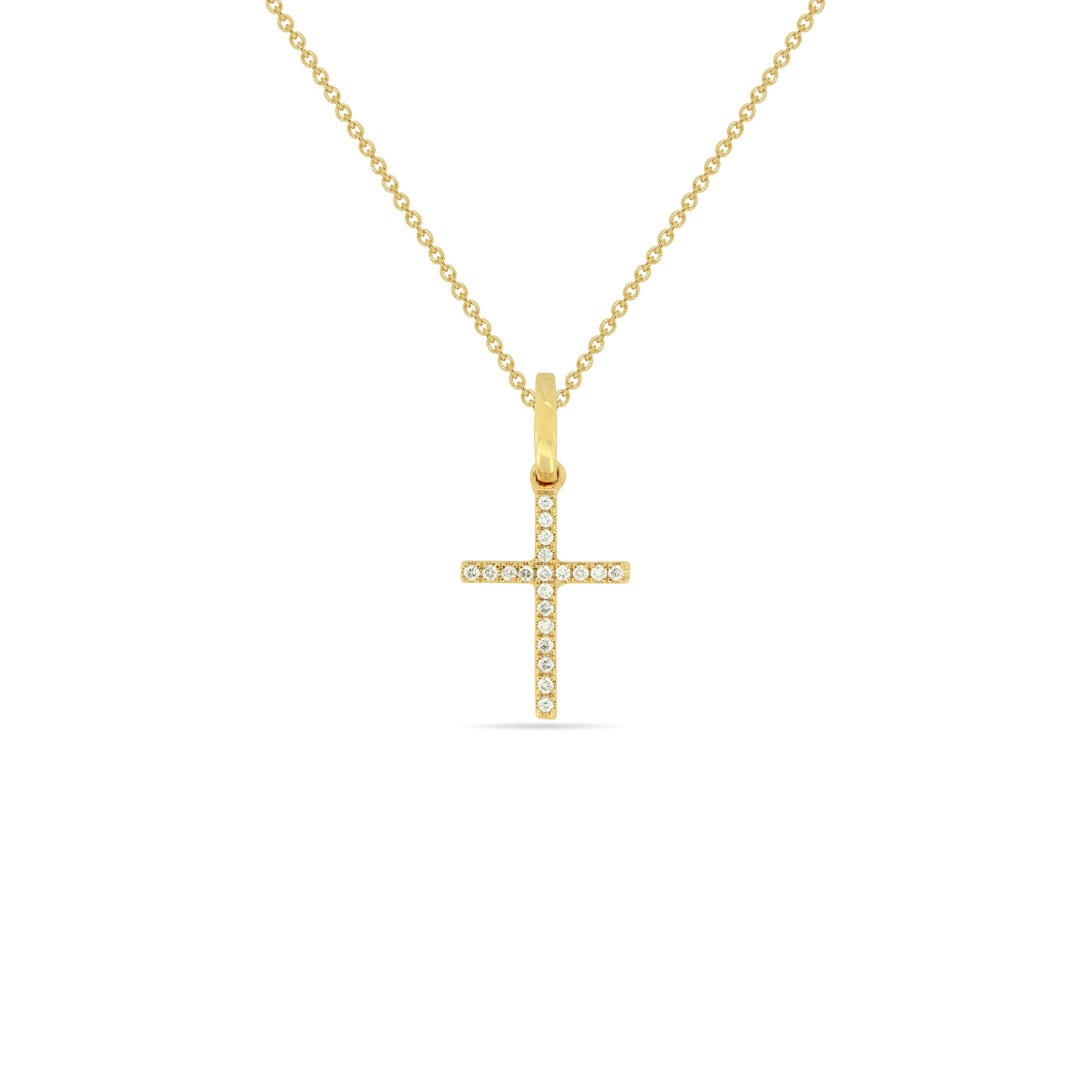 MEDIUM Cross Necklace , Necklaces - Fine Jewelry, RoCHIC, RoCHIC Designer Fine Jewelry