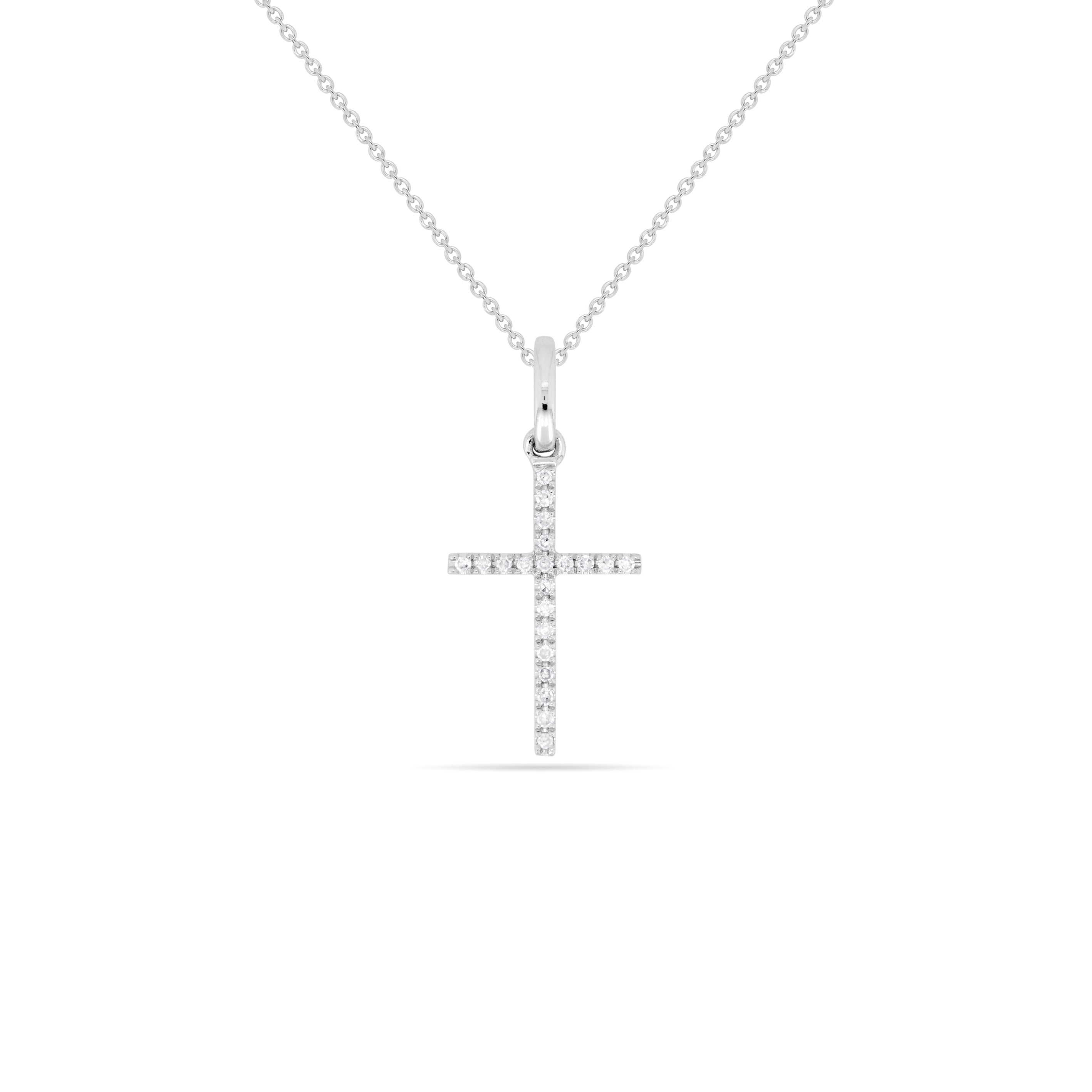 LARGE Cross Necklace , Necklaces - Fine Jewelry, RoCHIC, RoCHIC Designer Fine Jewelry