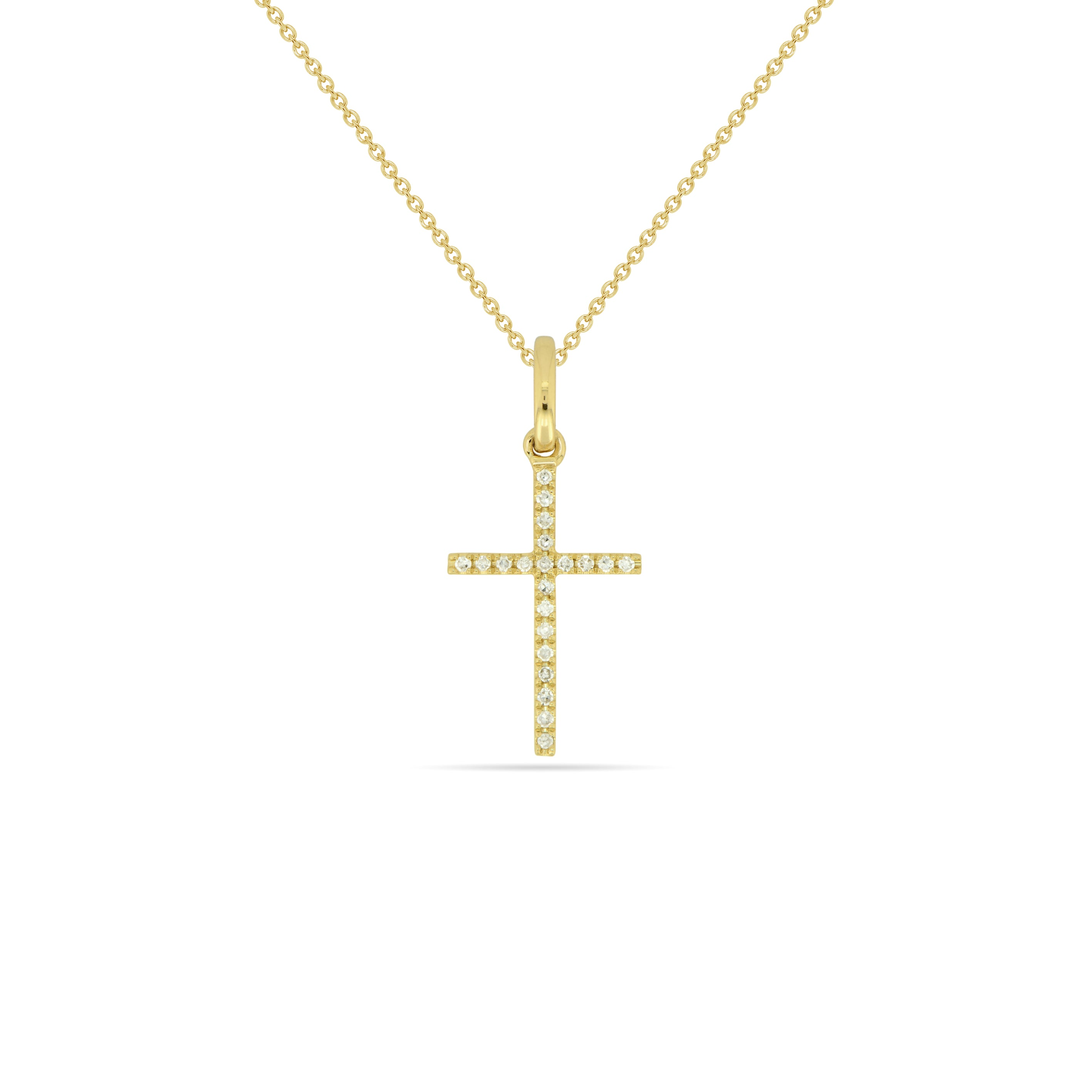 LARGE Cross Necklace , Necklaces - Fine Jewelry, RoCHIC, RoCHIC Fine Jewelry