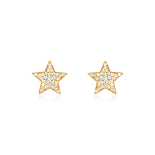 Star Studs , Earrings - Fine Jewelry, RoCHIC, RoCHIC Designer Fine Jewelry
