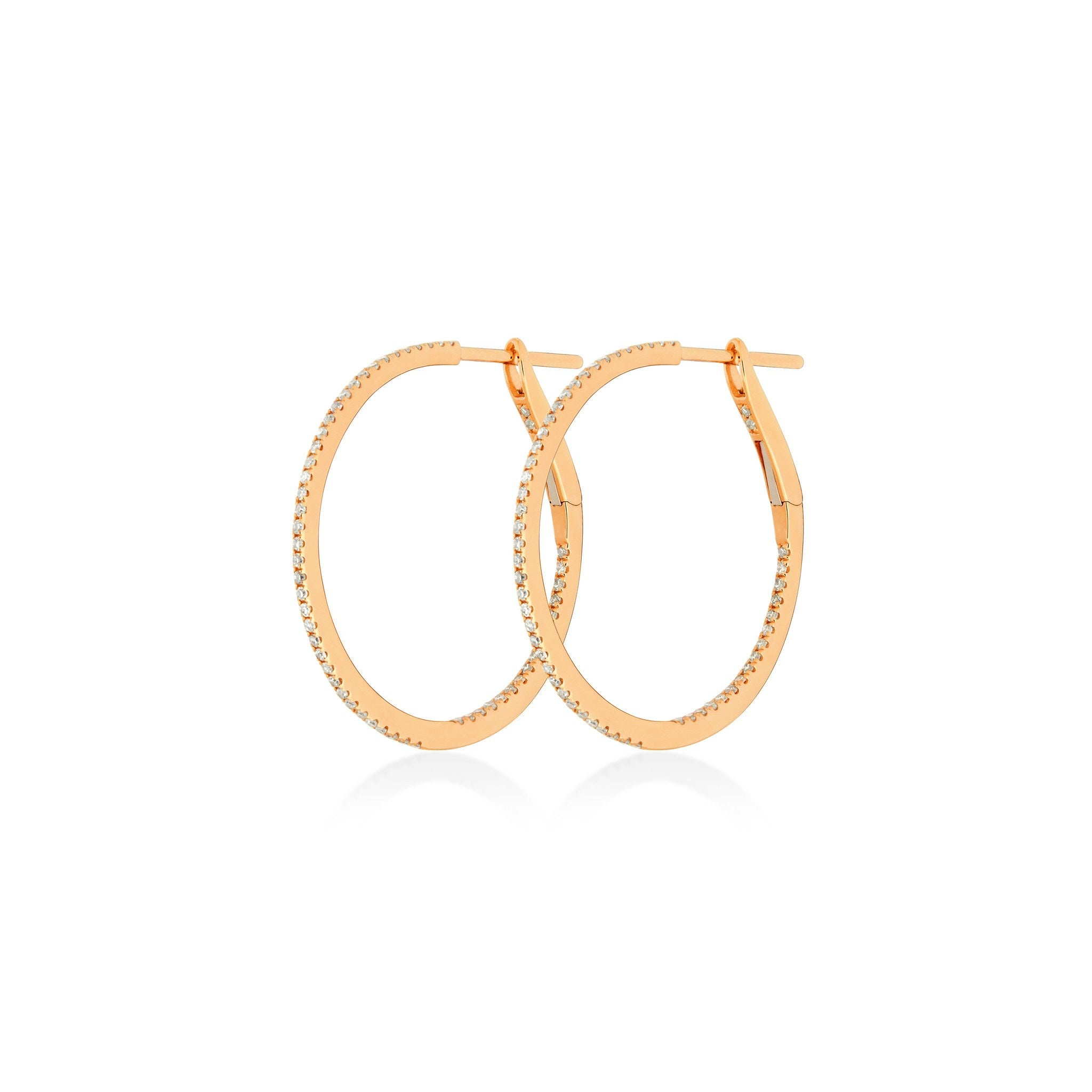 Earrings - 1 Inch/25 MM Hoops